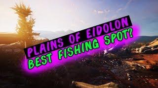 Warframe: Plains Of Eidolon - The Best Fishing Spot (Fish Oil Farm)
