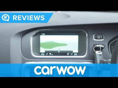 Volvo V40 Cross Country 2017 Sensus Navigation and interior review | Mat Watson Reviews