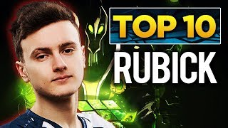 TOP 10 Rubick Players in Dota 2 History