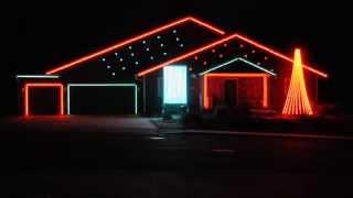 William Tell Overture - Flagstaff Christmas Light Show 2014