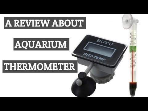 A Review about aquarium thermometer in tamil