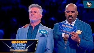 Thicke Takes On Fast Money - Celebrity Family Feud
