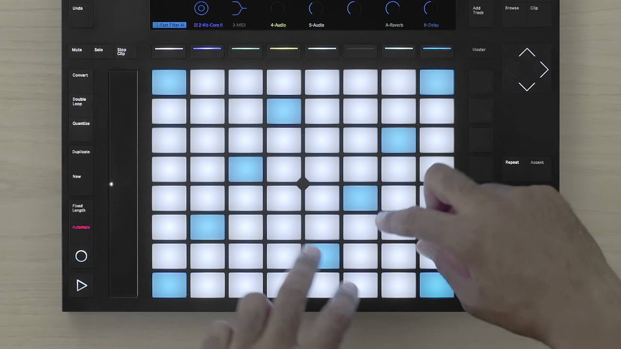 Ableton Push 2 (sis. Live 10 Intro)