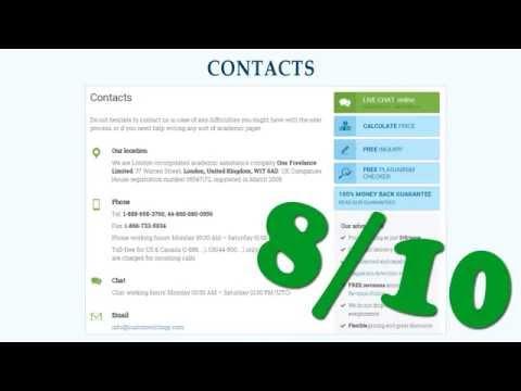 Custom paper writing service reviews