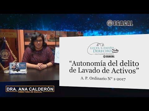 Programa 47 - Autonomía del delito de Lavado de Activos - Luces Cámara Derecho - EGACAL