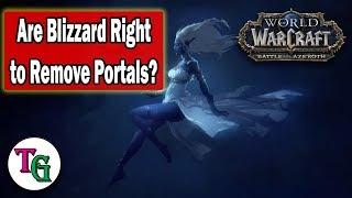 Do Old Portals Make the World Feel Smaller?