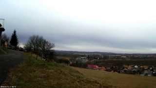 preview picture of video 'Balassagyarmat a temetőtől nézve.'