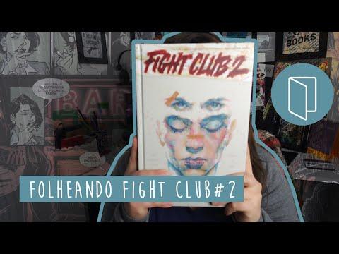 FOLHEANDO A HQ: CLUBE DA LUTA #2 (Fight Club 2) - VEDA 2 | Pausa Para Um Café