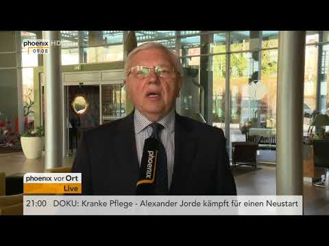 Tagesgespräch mit Harald Kujat zur Verschärfung der Lage in Syrien am 12.04.18