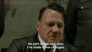 Hitler plans a new improved planning a plan