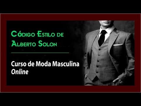 Código Estilo de Alberto Solon - Curso de Moda Masculina Online