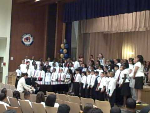 PS22 Chorus- Ali Stein Sings Angel St Graduation