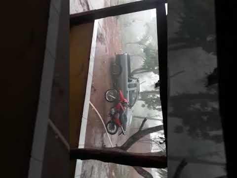 Currais:Chuva de granizo assusta moradores e deixa estragos nesta terça-feira;veja o vídeo