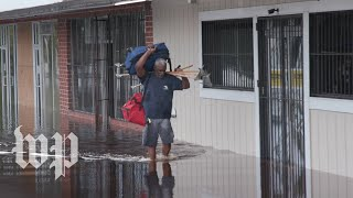 Across southeast North Carolina, residents are running out of food and patience, after Florence left flooding and power outages in its wake. Subscribe to The Washington Post on YouTube: http://bit.ly/2qiJ4dy  Follow us: Twitter: https://twitter.com/washingtonpost Instagram: https://www.instagram.com/washingtonpost/ Facebook: https://www.facebook.com/washingtonpost/