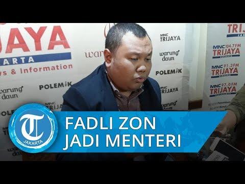 Fadli Zon Diisukan Jadi Menteri Jokowi, Pengamat: Ini akan Menarik