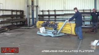 Aura Systems - Airbearing Installation Platform