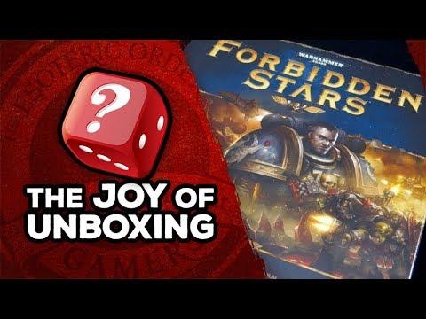 The Joy of Unboxing: Forbidden Stars