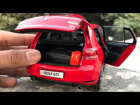 100$ Diecast Unboxing-2008 Volkswagen Golf Gti 1/18 Paudi Models Car