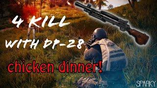 DP-28 MADNESS - 17 Kill Solo Game | PUBG