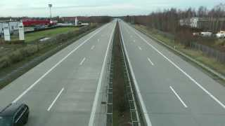 preview picture of video 'Autobahn A15 bei Cottbus (25.12.2012)'
