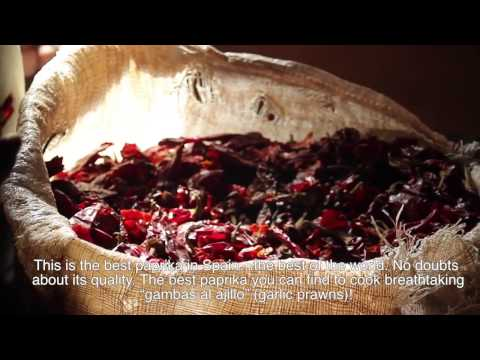 Olmeda Origenes - Spanish Paprika (Pimentón from La Vera)- How it is made.