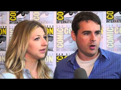Heidi Gardner and Tucker Gilmore talk about Super Mansion at Comic-Con 2015