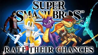 Super Smash Bros Ultimate - Rate Their Chances [10] Tails, Dillon, Tabuu, Spyro & Travis Touchdown!