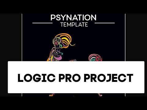 Psytrance - Psynation Logic Pro Template, Project als (Progressive)