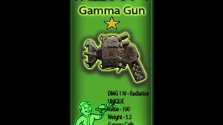 Fallout 4 Lorenzo's Artifact Gun Analysis ALL gamma Guns Zeta included HD