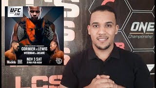 نزالات قوية في بطولة يو إف سي هذا الأسبوع UFC 230