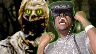 THE FOREST - 360 HTC Vive VR Experience REACTION