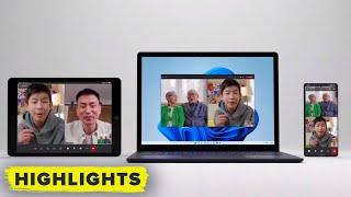 Microsoft Teams! Watch the full Windows 11 reveal