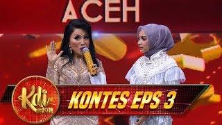 Luar Biasa Aksi Bunda Sugiarto Dalam Memberikan Contoh Bernyanyi Untuk Cut - Kontes KDI Eps 3 (8/8)
