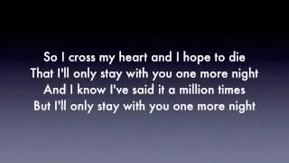 One more night - maroon 5 ( Lyrics ) perfect audio