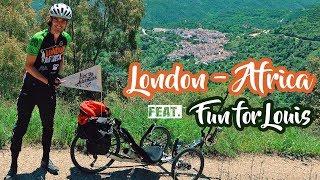 FunForLouis - London2Africa * HE MADE IT!   Kholo.pk