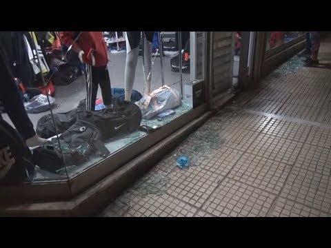 Επίθεση αγνώστων σε καταστήματα στην Κυψέλη