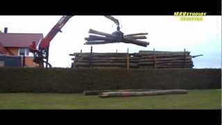preview picture of video 'Unser Holz 2011 - Das gibt eine Menge Arbeit aber mollige Wärme 2013'
