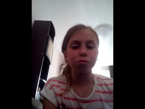 Маша Авдеева- песня про следы.
