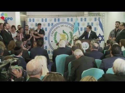 Guatemala abre su embajada en Jerusalén