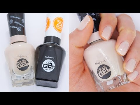 Sally Hansen 'Miracle Gel' Nail Polish Review (7 DAY TEST)