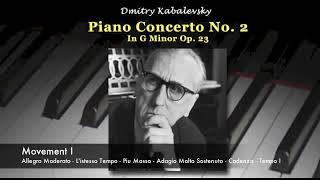 Kabalevsky- Piano Concerto No. 2 In G Minor Op. 23