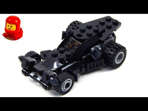 Vidéo LEGO DC Comics Super Heroes 30446 : La mini Batmobile (Polybag)