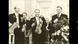 Oistrakh / Mravinsky, Shostakovich Violin Concerto No.1 Op.99 Prague 1957