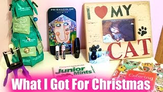 What I Got For Christmas 2016! | My Life Fast Forward