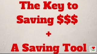 The key to saving