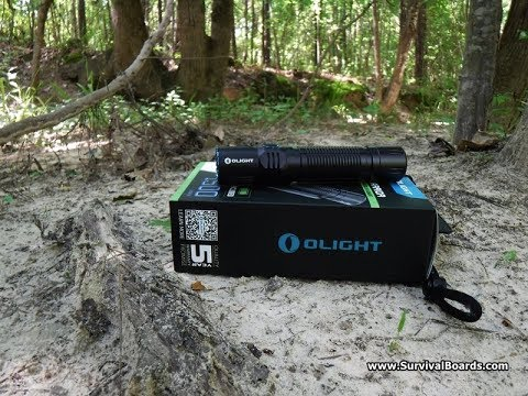 Olight M2R Warrior Flashlight Review