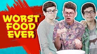 NOAH'S TOP 5 WORST FOODS EVER