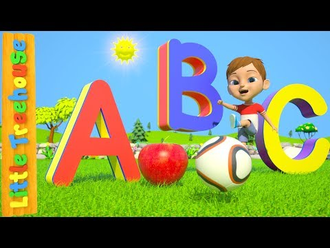 ABC Phonics Song For Children | Learn Colors & Shapes