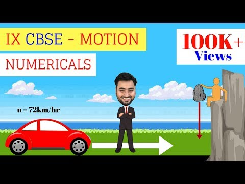 CLASS 9 PHYSICS - MOTION NUMERICALS