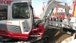 preview picture of video 'Takeuchi TB250 Demo @ Bauma 2013'